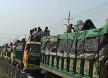 ঢাকা-টাঙ্গাইল মহাসড়কে দীর্ঘ যানজট, বাস না...