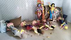 গাজীপুরে মন্দিরে প্রতিমা ভাংচুর