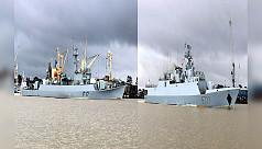 বঙ্গোপসাগরে বাংলাদেশ-ভারত নৌবাহিনীর...