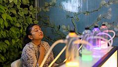দিল্লিতে খোলা হলো অক্সিজেন বার